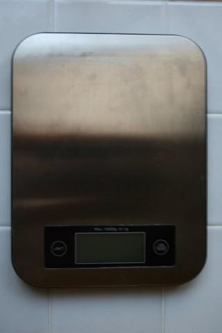 משקל מטבח לבצק