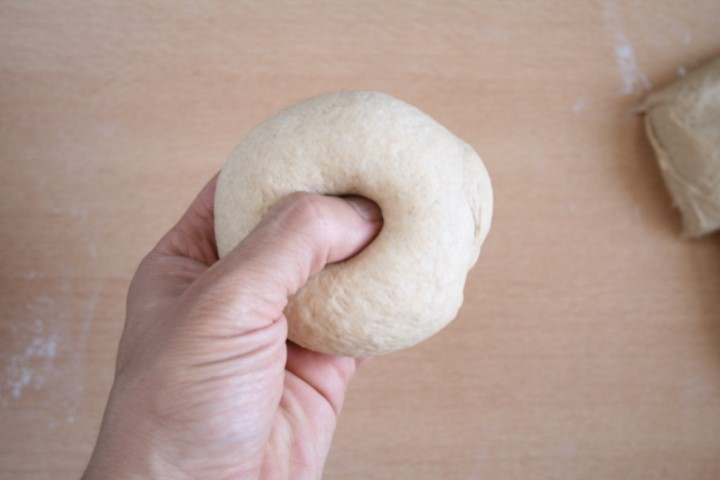 shaping the bagel