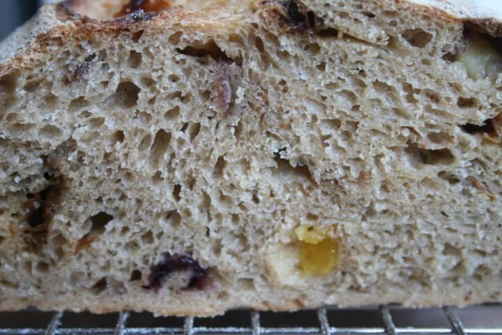 פרוסה של לחם טו בשבט