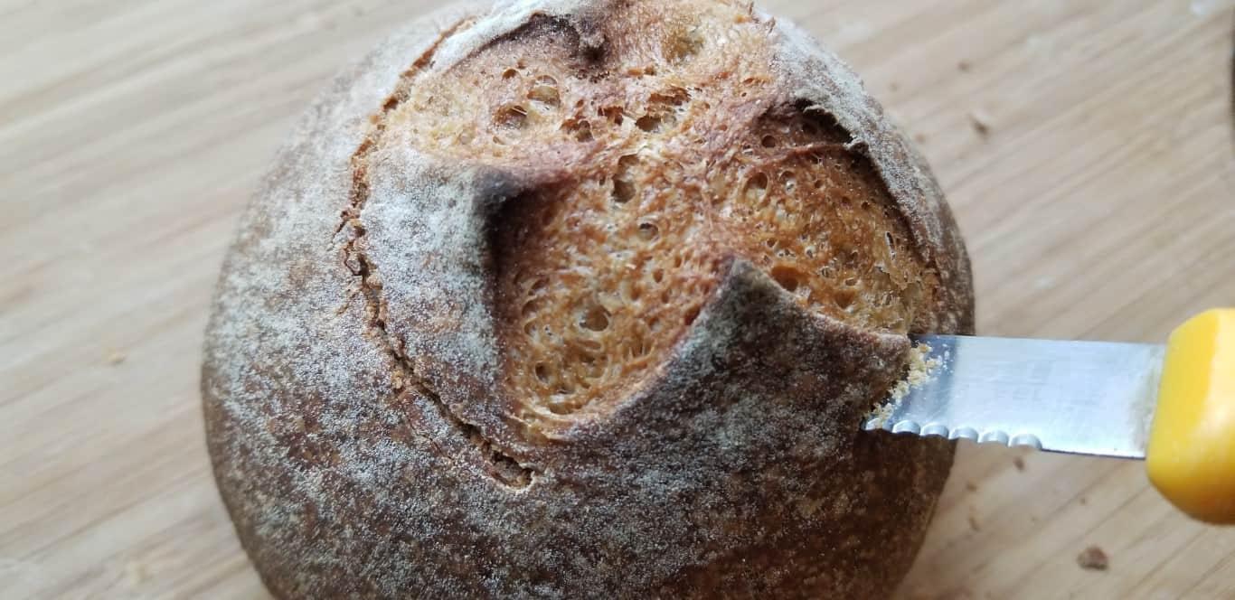 חיתוך קערת לחם